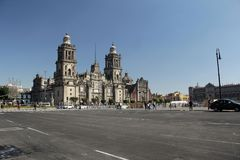 Zocalo Square. Royalty Free Stock Photography