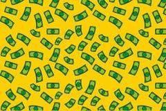 Zoccolo della pioggia dei soldi illustrazione vettoriale