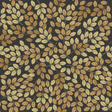 Zoccolo senza cuciture con le foglie di autunno alla moda Fotografia Stock