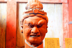 Zocho Ten zo Budda. In Todaiji, Nara, Japan Royalty Free Stock Photography