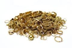 złocista biżuteria Zdjęcie Stock