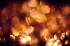 Złocisty abstrakcjonistyczny tło Zdjęcie Royalty Free