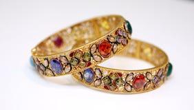 złocisty jewellery Fotografia Royalty Free