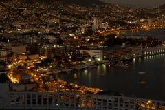 zocolo för acapulco område s Arkivfoto