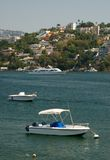 Zocolo Jachthafenbereich von Acapulco Mexiko Lizenzfreie Stockfotografie