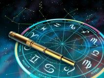 Zodíaco Fotografia de Stock Royalty Free