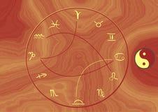 Zodíaco Ilustração Royalty Free