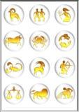 Zodíaco Imagens de Stock