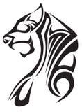 Zodíaco do tigre Fotografia de Stock