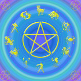 Zodiac´s sign Stock Image