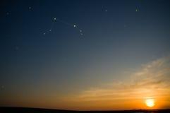 zodiac αστερισμού Στοκ Φωτογραφίες