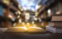 Zodiac αστρολογίας ωροσκοπίων Zodiac ωροσκοπίων μύθος ST σημαδιών τύχης Στοκ φωτογραφίες με δικαίωμα ελεύθερης χρήσης