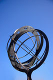 zodiac ηλιακών ρολογιών σημαδ&iot Στοκ φωτογραφίες με δικαίωμα ελεύθερης χρήσης
