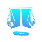 Zodiac διάνυσμα Libra σημαδιών Στοκ φωτογραφία με δικαίωμα ελεύθερης χρήσης