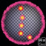 Zodiac καρκίνος σημαδιών Primrose έννοια Έννοια λουλουδιών Στοκ φωτογραφίες με δικαίωμα ελεύθερης χρήσης