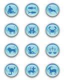 zodiac κουμπιών Στοκ φωτογραφία με δικαίωμα ελεύθερης χρήσης