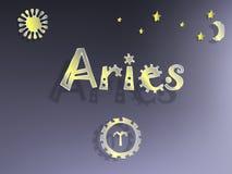 Zodiac σημάδι με τα αστέρια Στοκ φωτογραφίες με δικαίωμα ελεύθερης χρήσης