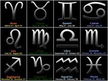 zodiac σημαδιών Στοκ Φωτογραφίες