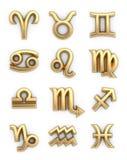 zodiac σημαδιών ελεύθερη απεικόνιση δικαιώματος