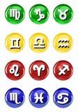 zodiac σημαδιών Στοκ Εικόνες
