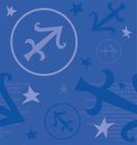 Zodiac συμβόλων σημάδι Στοκ εικόνα με δικαίωμα ελεύθερης χρήσης