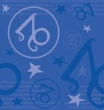 Zodiac συμβόλων σημάδι Στοκ Φωτογραφίες