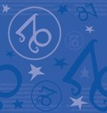 Zodiac συμβόλων σημάδι Στοκ φωτογραφία με δικαίωμα ελεύθερης χρήσης