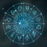 Zodiac σύμβολα Στοκ Φωτογραφία