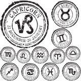 Zodiac σύνολο Στοκ Φωτογραφίες