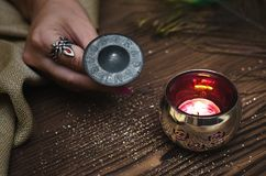 Zodiac φυλακτό ροδών Φυλακτό ωροσκοπίων αστρολογίας Στοκ Εικόνες