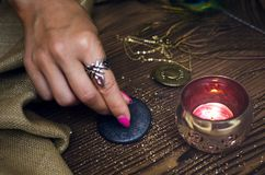 Zodiac φυλακτό ροδών Φυλακτό ωροσκοπίων αστρολογίας Στοκ Φωτογραφία