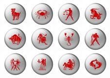 zodiac σημαδιών Στοκ φωτογραφία με δικαίωμα ελεύθερης χρήσης