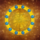 Zodiac royalty free illustration