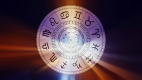 Zodiac astrology signs for horoscope Royalty Free Stock Photos
