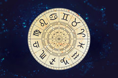 Zodiac astrology signs for horoscope Stock Images