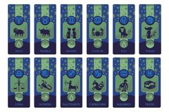 Zodiac Banners Royalty Free Stock Image