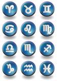 Zodiac blue Stock Image