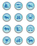 Zodiac Buttons Royalty Free Stock Photo