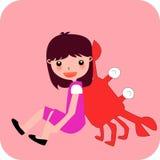 Zodiac- cancer Royalty Free Stock Image