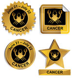 Zodiac - Cancer Stock Photos