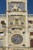 Zodiac clock, Saint Marks Square, Venice, Italy royalty free stock photography