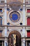 Zodiac clock at San Marco in Venice. Zodiac clock at San Marco square in Venice royalty free stock images