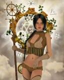 The zodiac conjurer Royalty Free Stock Photos
