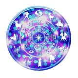 Zodiac disc Royalty Free Stock Images
