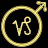 zodiac för 002 capricorn Royaltyfria Bilder