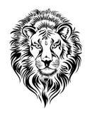 zodiac för tatuering för designleo tecken Royaltyfria Bilder