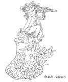 zodiac för vatten för aquariusbärare tolv Royaltyfri Bild