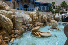 Zodiac Fountain in Jaffa Royalty Free Stock Photos