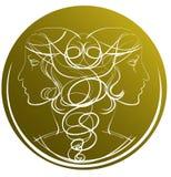 Zodiac Gemini Royalty Free Stock Photo