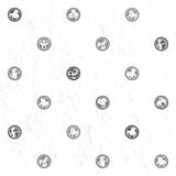 Zodiac grungy sparse pattern Stock Images